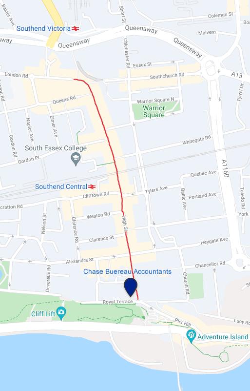 Chace Bureau Map